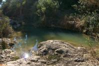 de ruta por la perenxisa... descansando en la font de calicanto