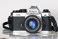 Nikon FM2n with Nikkor 50mm f1.8 ais