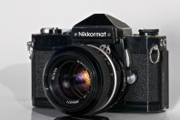 Nikkormat Ftn with Nikkor 50mm f1.4 ai