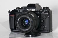 Nikon F550 with Nikkor 35-70mm f3.5-5.6 af
