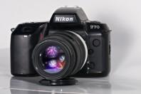 Nikon F70 with sigma macro 180mm f5.6