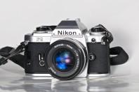 Nikon FG with Nikkor 50mm f1.8 ais